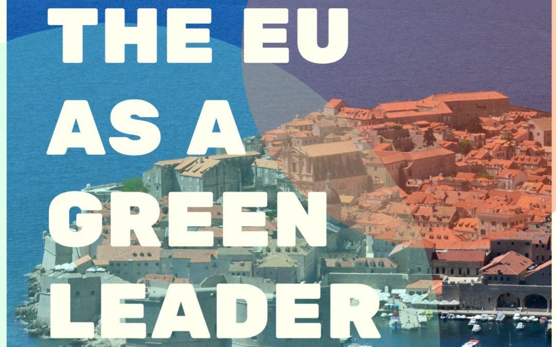 The EU as a green leader seminar